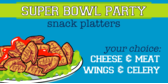 Super Bowl Party Platters