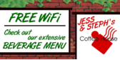 Coffee House With WiFi And Beverage