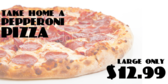 Large Pepperoni Deal
