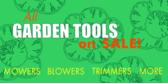Garden Tool Sale