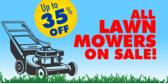 Lawn Mower Sale
