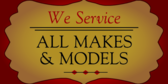 Appliance Service All Makes Models