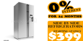 Refrigerator Sale With No Interest