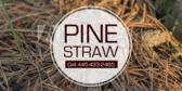 Pine Straw Installed
