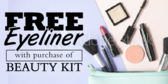 Free Eyeliner With Beauty Kit