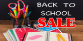 Back to School Sale Bubbles
