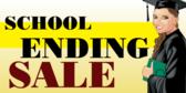 School Ending Sale
