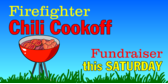 Firefighter Chili Cookoff