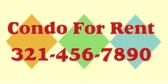 Condo For Rent