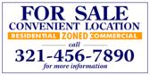 For Sale Convenient Location