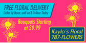 Free Floral Delivery Bouquets
