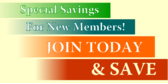 Special Savings For New Members