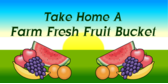 Farm Fresh Fruit Bucket