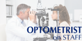 Optometrist on Staff