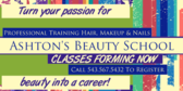 Beauty School Promo With Tagline