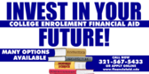 College Financial Aid Invest In Your Future