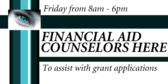 FInancial Aid Conselors