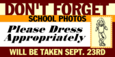 School Photo Day Dress Appropriately