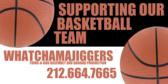 Business Supports Basketball Team