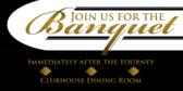 Golf Post Torunament Banquet