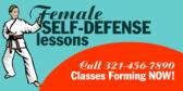 Female Defense Lessons