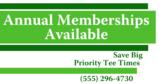 Annual Golf Membership