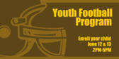 Youth Football Program