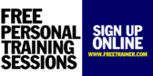 Free Personal Training Sessions