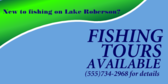 Fishing Tours Available