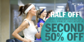 Half Off Second Membership