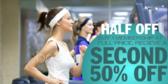 Half Off Second Membership