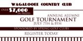Alumni Golf Tournament Redux