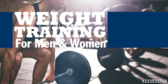 Weight Training for Men Women