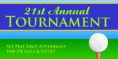 Annual Golf Tournament Entry