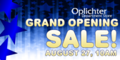 Opening Department Sale Store Banner