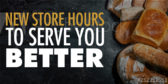 Store Hours to Serve You