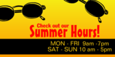Check Out the Summer Hours