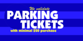 Validated Parking With Purchase