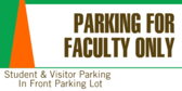 Faculty Parking