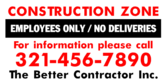 Construction Zone Employees