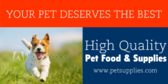 Your Pet Deserves The Best