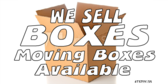 Moving Boxes Available