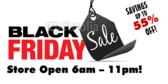 Black Friday Sale Store Opens Early