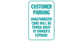 Customer Parking, Towed