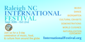 Raleigh International Festival