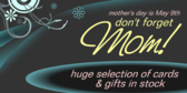 Mother's Day Sale, Don't Forget Mom Greeting Cards