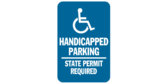 Handicapped Parking, State Permit