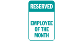 Reserved Employee of the Month
