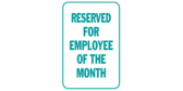 Reserved for Employee Month