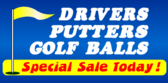 Putters Drivers Balls Sale